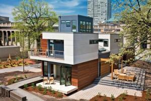 Case ecologiche intelligenti ecologismo Michelle kaufmann designs blu homes