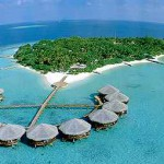 Le isole Maldive.