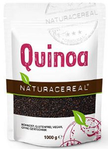 Quinoa nera.