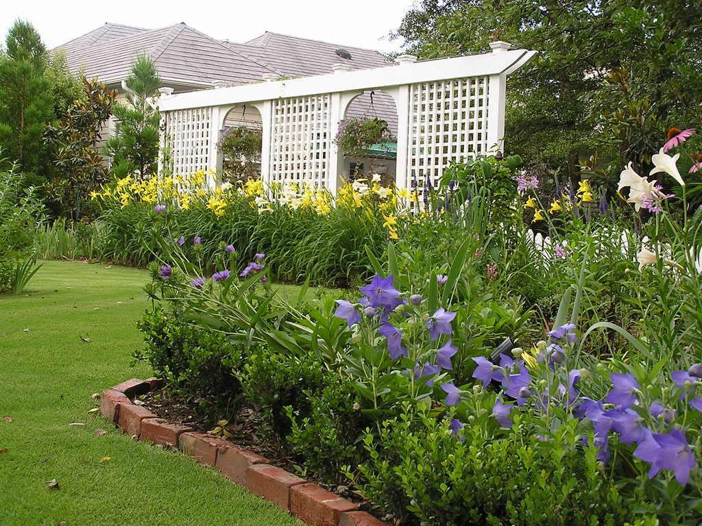 Un giardino ecologico e naturale.