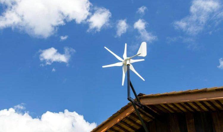 Generatore eolico domestico.