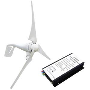 Generatore eolico orizzontale per casa.